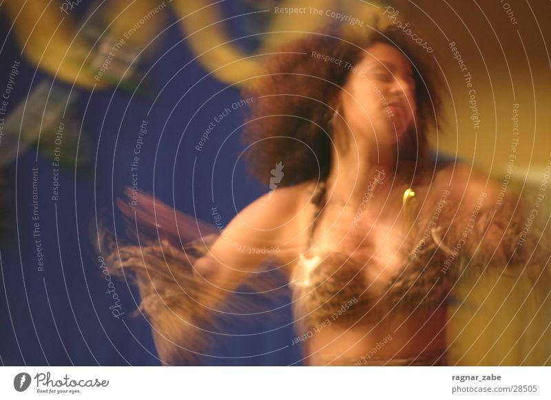 Samba Frau Bewegung Karneval Katze Tänzer Leopard Sambatänzer