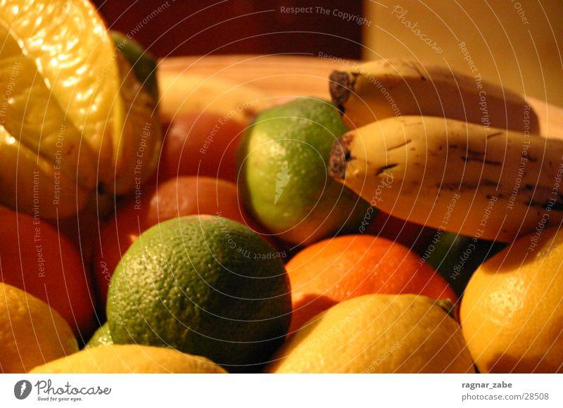 gemeine früchtchen Gesundheit orange Südfrüchte Zitrone Banane Frucht Limone Dessert Obstsalat Maracuja
