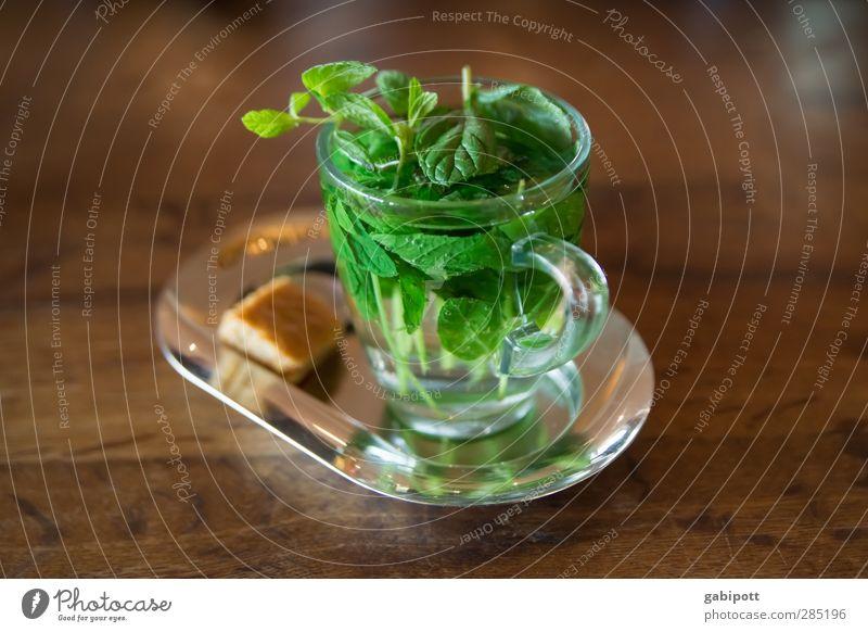 gut gegen November (und Februar) Getränk trinken Heißgetränk Tee Minze Pfefferminztee Tasse Glas schön Gesundheit Alternativmedizin Krankenpflege Wellness Leben