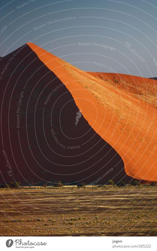 Bright Side of Life Natur schön Landschaft Ferne gelb Wärme Freiheit Sand orange gold Abenteuer Urelemente Wüste Düne Expedition Dürre