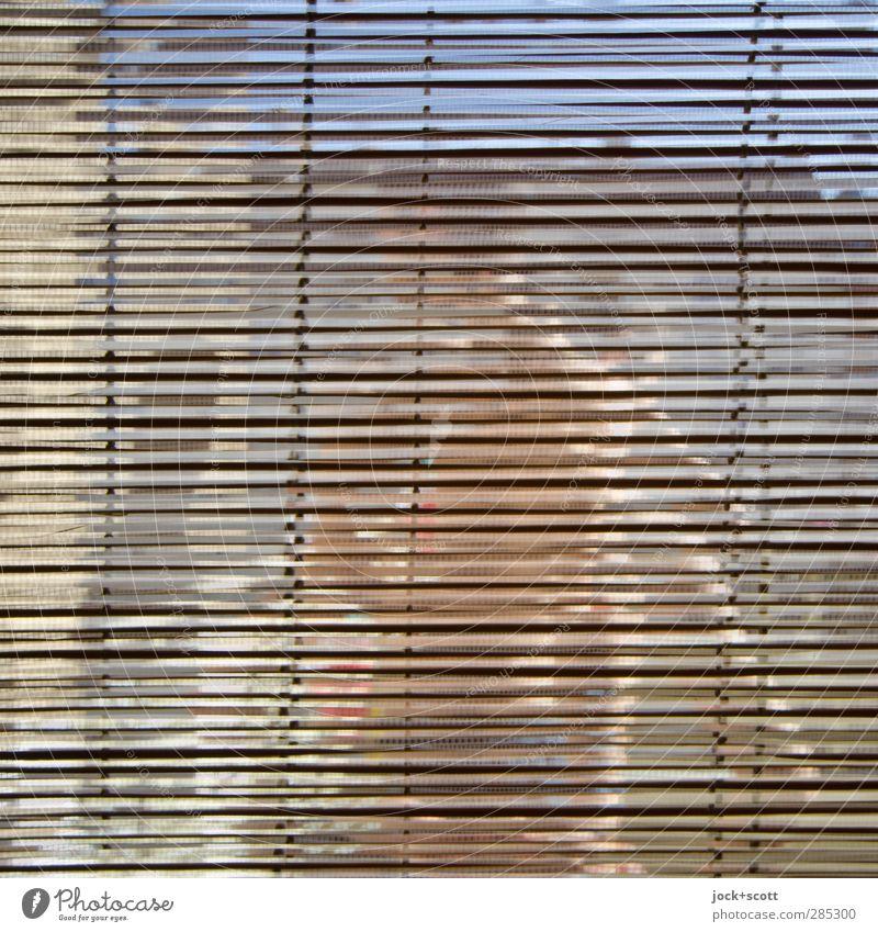 Verwirrung auf ganzer Linie Mensch Stadt Erholung Fenster Wärme Bewegung Stil Berlin Freiheit Linie Lifestyle maskulin Wohnung Häusliches Leben Dekoration & Verzierung Glas