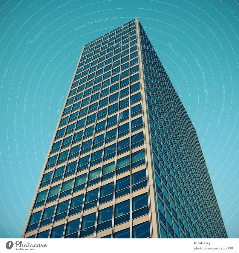 haushoch Büroarbeit Handwerk Baustelle Düsseldorf Dorf Hauptstadt Stadtzentrum Altstadt Haus Hochhaus Bauwerk Gebäude Architektur Fassade Fenster