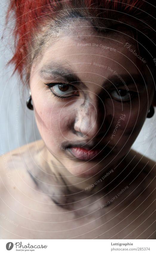 deep inside Mensch Jugendliche Erwachsene Junge Frau feminin Gefühle 18-30 Jahre Angst authentisch Ehrlichkeit Wahrheit