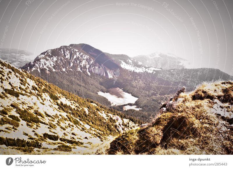 Die Höhen am Silberberg Natur Pflanze Landschaft Berge u. Gebirge Umwelt Herbst Gras Felsen Horizont Tourismus Wetter Sträucher Klima Europa Schönes Wetter