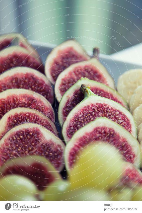 fruchtig Frucht Ernährung Frühstück Bioprodukte Vegetarische Ernährung Diät Gesundheit lecker Feige Farbfoto Innenaufnahme Nahaufnahme Detailaufnahme