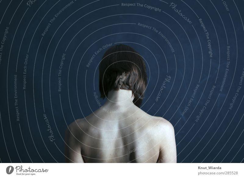 Julia schön Körper Haare & Frisuren Haut Mensch feminin Junge Frau Jugendliche Erwachsene Rücken 1 18-30 Jahre brünett kurzhaarig ästhetisch nackt dünn Erotik