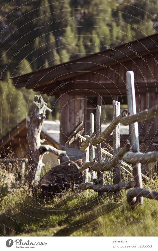 alle Latten am Zaun Ferien & Urlaub & Reisen Sommer Einsamkeit ruhig Wärme Wiese Berge u. Gebirge Gras Holz Freiheit Tourismus Ausflug Schönes Wetter Alpen