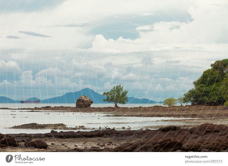 Thailand - Ko Po - Krabi Natur Ferien & Urlaub & Reisen Wasser Meer Strand Landschaft Freiheit Sand Reisefotografie Tourismus Idylle Asien Bucht Postkarte