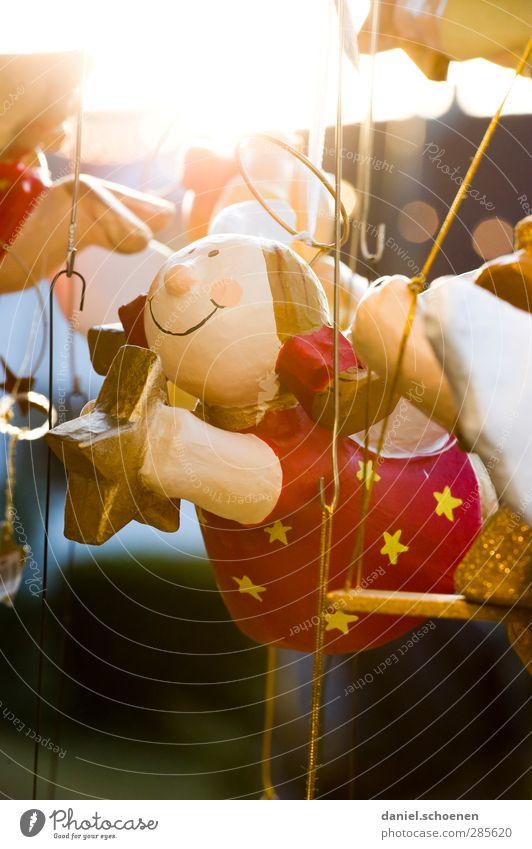 Engelchen flieg Weihnachten & Advent schön hell Dekoration & Verzierung Kitsch Weihnachtsmarkt Baumschmuck Weihnachtsdekoration