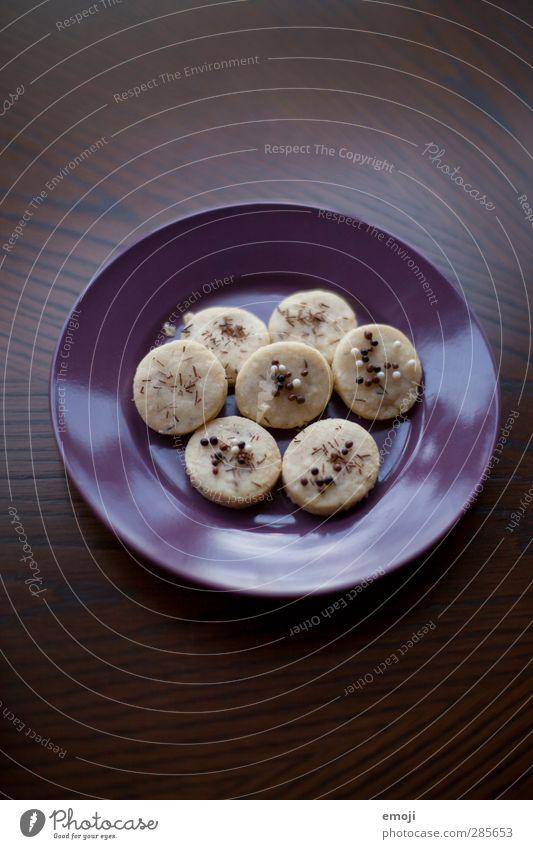 Vor-Weihnachtskekse Süßwaren Keks Ernährung Slowfood Fingerfood Teller lecker süß Kalorie Farbfoto Innenaufnahme Menschenleer Textfreiraum oben