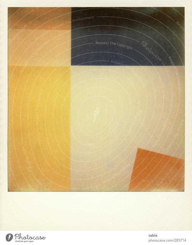 POLAMANIA blau grün weiß rot Farbe ruhig gelb Stil orange gold Design ästhetisch Streifen Papier einzigartig retro