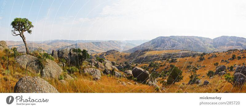 Wanderparadies Südafrika Natur Ferien & Urlaub & Reisen ruhig Landschaft Erholung Umwelt Berge u. Gebirge Freiheit Garten träumen Feld Zufriedenheit authentisch