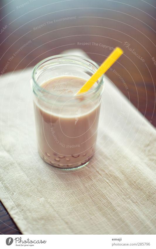 selfmade bubble tea Ernährung Getränk trinken Erfrischungsgetränk Milch Tee Glas Trinkhalm Flüssigkeit lecker Farbfoto Innenaufnahme Menschenleer