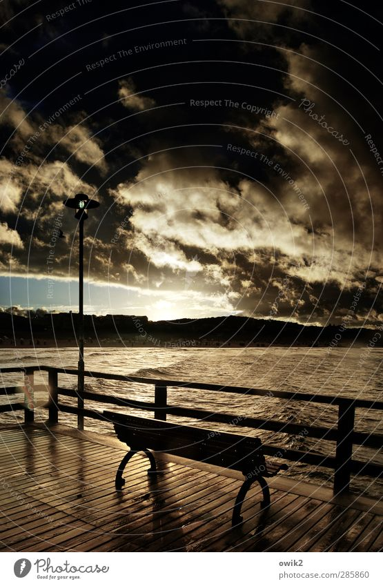 Fernsehprogramm Himmel Natur Ferien & Urlaub & Reisen Wasser Meer Strand Landschaft Ferne Umwelt Horizont Wellen glänzend Insel leuchten Idylle Schönes Wetter