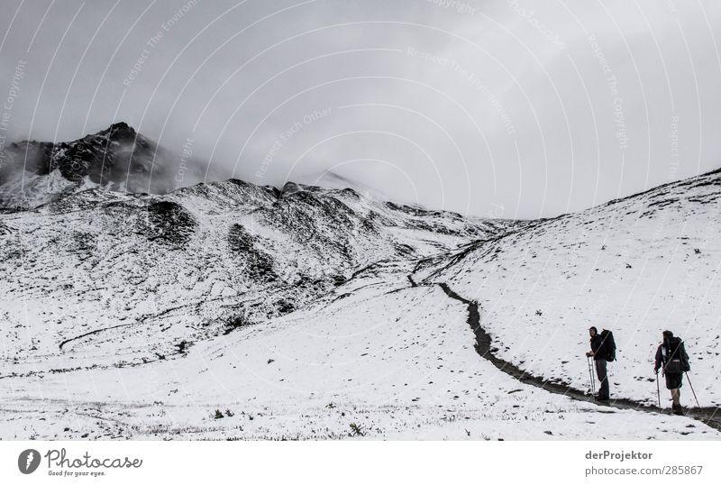 Sommerwanderung in Savoien Sommer Wolken Berge u. Gebirge kalt Sport Schnee wandern einzigartig Gipfel Vorfreude schlechtes Wetter Wahrheit