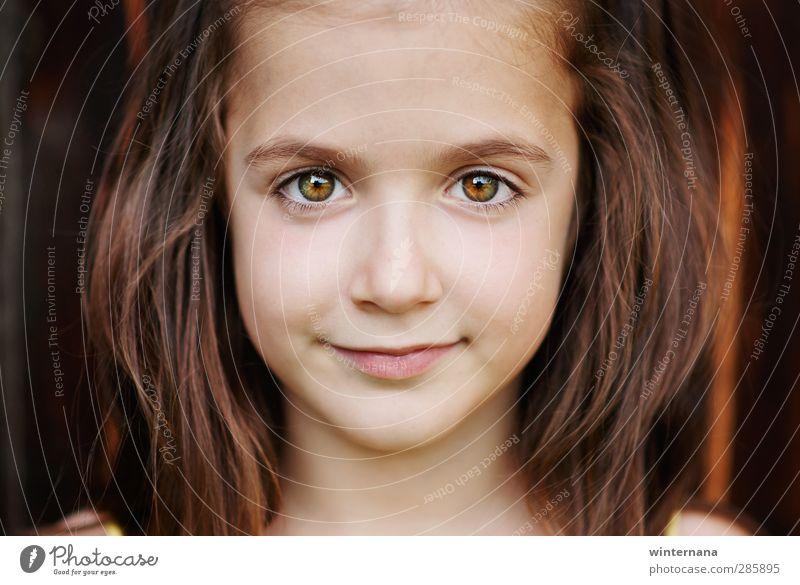 Preslava Mädchen Gesicht Auge 3-8 Jahre Kind Kindheit Fröhlichkeit schön Farbfoto Porträt Vorderansicht Blick Blick in die Kamera
