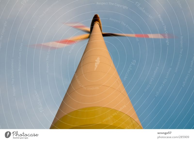 Windquirl Maschine Technik & Technologie Fortschritt Zukunft Energiewirtschaft Erneuerbare Energie Windkraftanlage Industrie hoch nachhaltig mehrfarbig Windrad