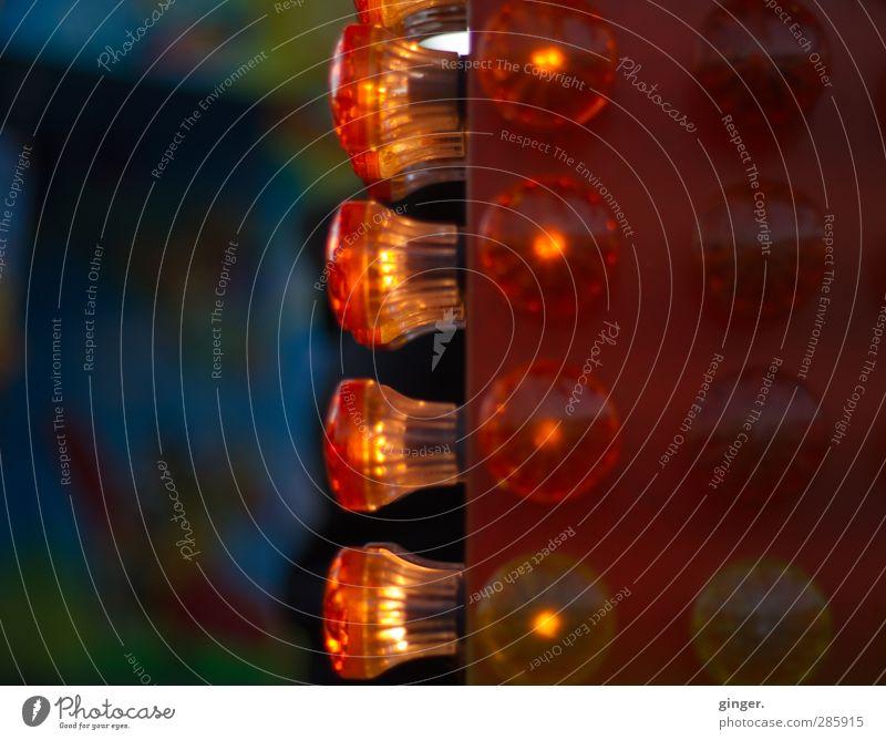 Köln UT 10/12 | Ich hab die Lampen an... Veranstaltung Show Party leuchten Licht Illumination gelb Lichtspiel Schattenspiel Feste & Feiern hell dunkel Jahrmarkt