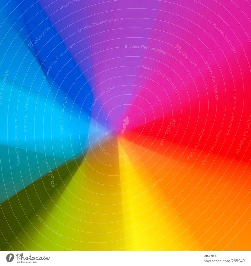 LSD Stil Design Kunst Papier außergewöhnlich trendy einzigartig modern schön verrückt Farbe Hintergrundbild Farbverlauf spektral Psychiatrie Farbfoto mehrfarbig
