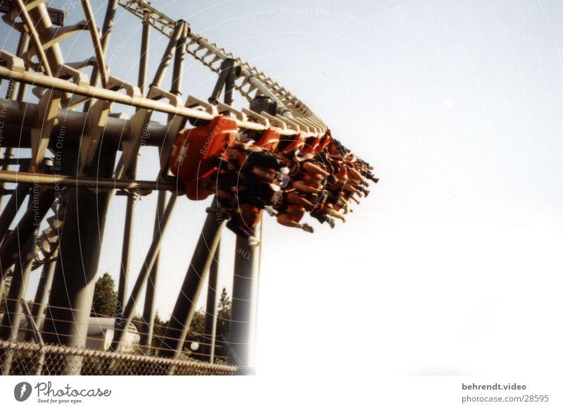 Wie so viele von Vekoma... fahren Freizeit & Hobby schreien hängen Achterbahn Vergnügungspark