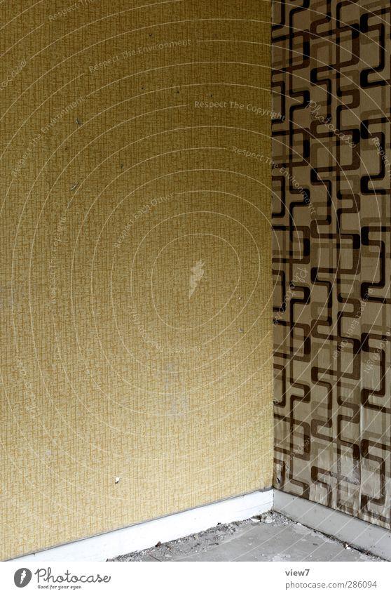 240974_ Wohnung Hausbau Renovieren Umzug (Wohnungswechsel) Innenarchitektur Raum Wohnzimmer Schlafzimmer alt exotisch kaputt Kitsch trist Heimweh Fernweh