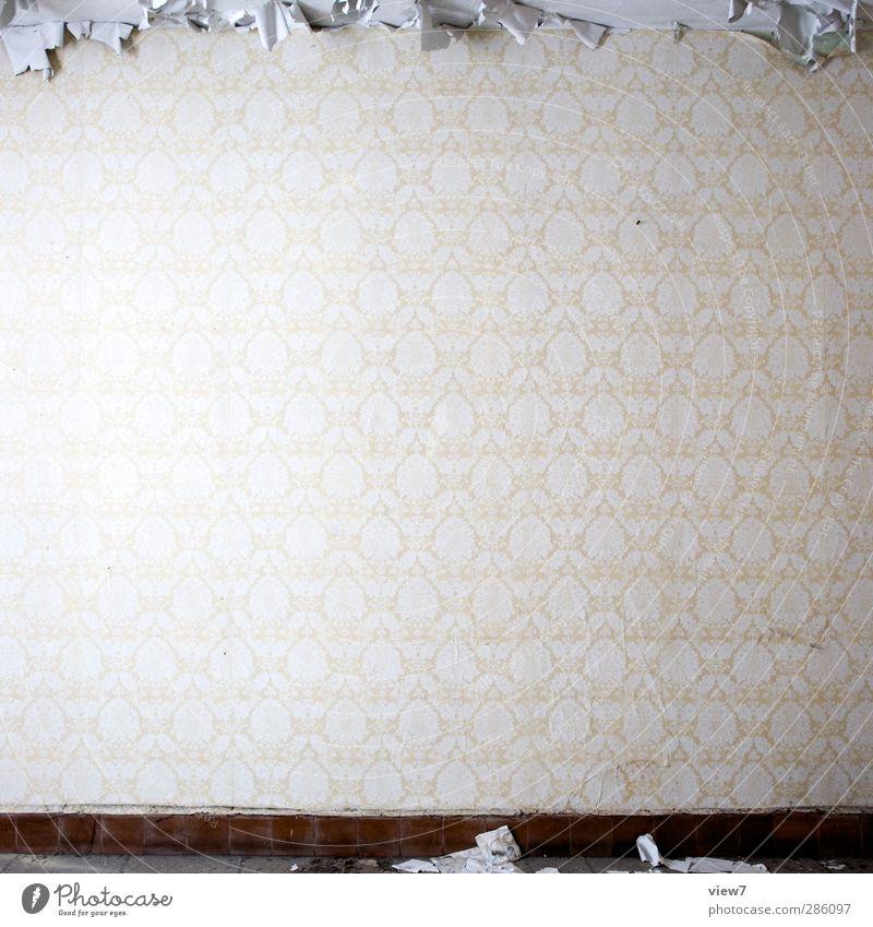 Pause _ Ende Part II alt gelb Traurigkeit Innenarchitektur Business Kunst Wohnung authentisch Dekoration & Verzierung kaputt trist Baustelle Vergänglichkeit