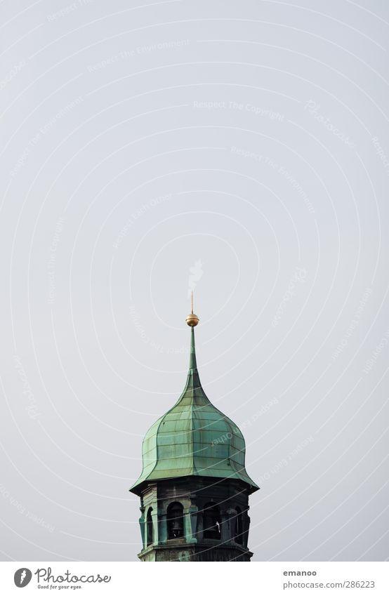 bim bam Wetter Haus Kirche Turm Bauwerk Gebäude Architektur Dach Sehenswürdigkeit Wahrzeichen Denkmal alt grün Freiburg im Breisgau Rathaus Turmspitze