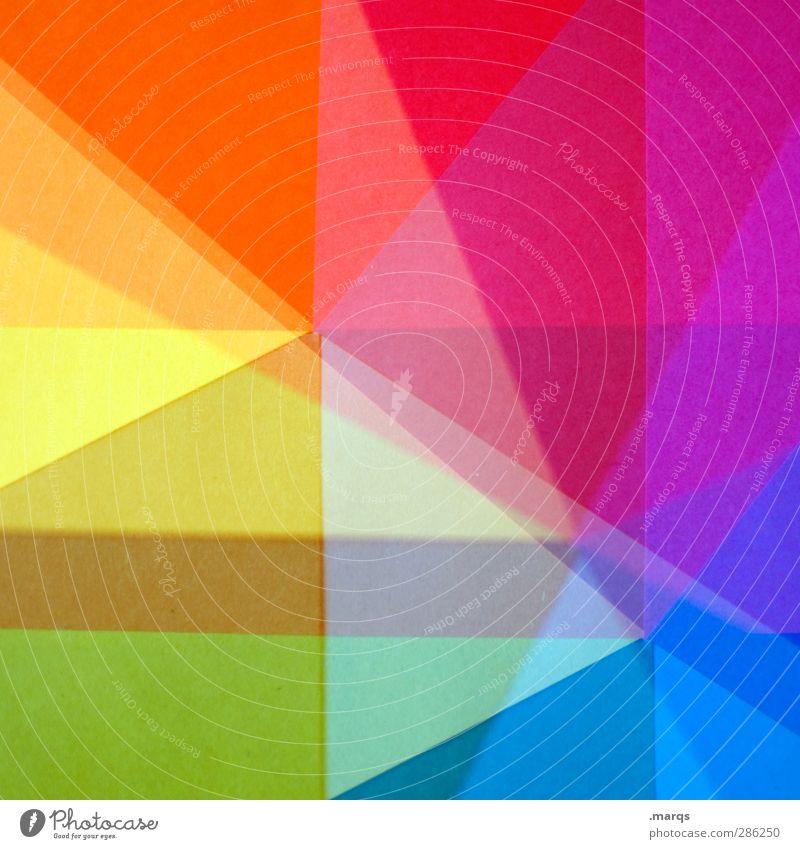 Fragment Lifestyle Stil Design Kunst Dekoration & Verzierung leuchten außergewöhnlich Coolness einzigartig modern verrückt Farbe Ordnung Grafik u. Illustration
