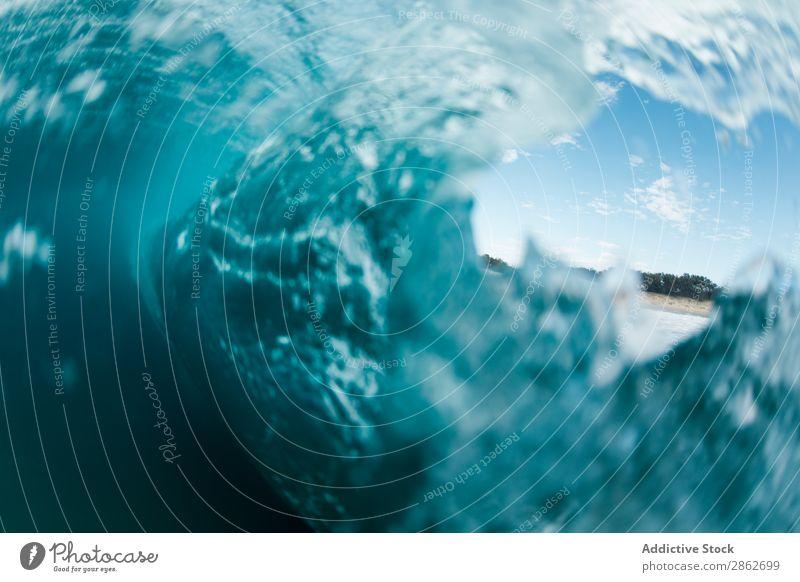 Bild der Meereswelle Grafik u. Illustration winken Wasser Tourismus Strand Ferien & Urlaub & Reisen Natur Küste Sand Atlantik Landschaft schön