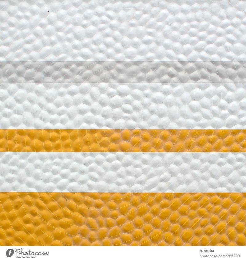 Wohnwagen weiß gelb Linie Kunst Design einzigartig Klarheit Kunststoff Camping graphisch Oberfläche Verkehrsmittel Wohnwagen Grafische Darstellung Noppe Oberflächenstruktur