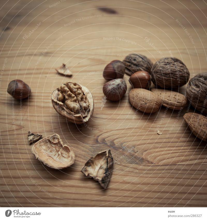 Knacksches Quadrat Weihnachten & Advent natürlich Holz klein Lebensmittel braun Dekoration & Verzierung authentisch Ernährung Dinge Stillleben Vorfreude