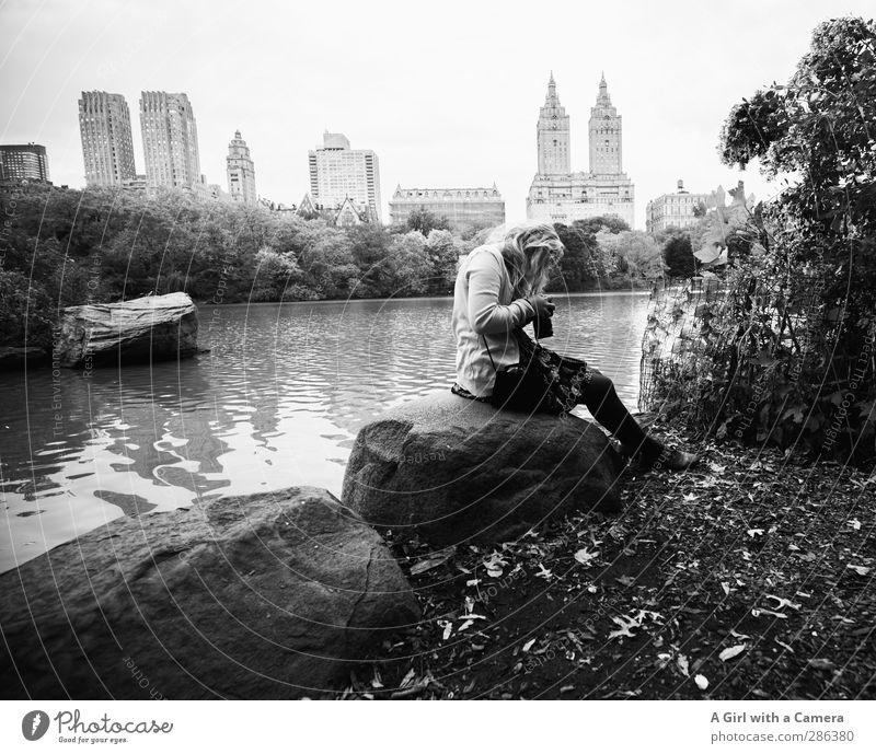 expections Mensch Jugendliche Stadt Junge Frau Leben feminin Körper 13-18 Jahre Sehenswürdigkeit Interesse Fotografieren New York City Central Park