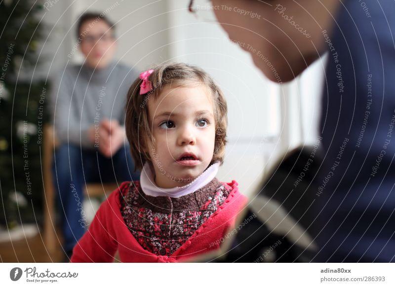 Vertrauen Mädchen Liebe sprechen Leben Familie & Verwandtschaft Zusammensein Kindheit Zukunft lernen Kommunizieren Sicherheit Bildung Neugier Schutz