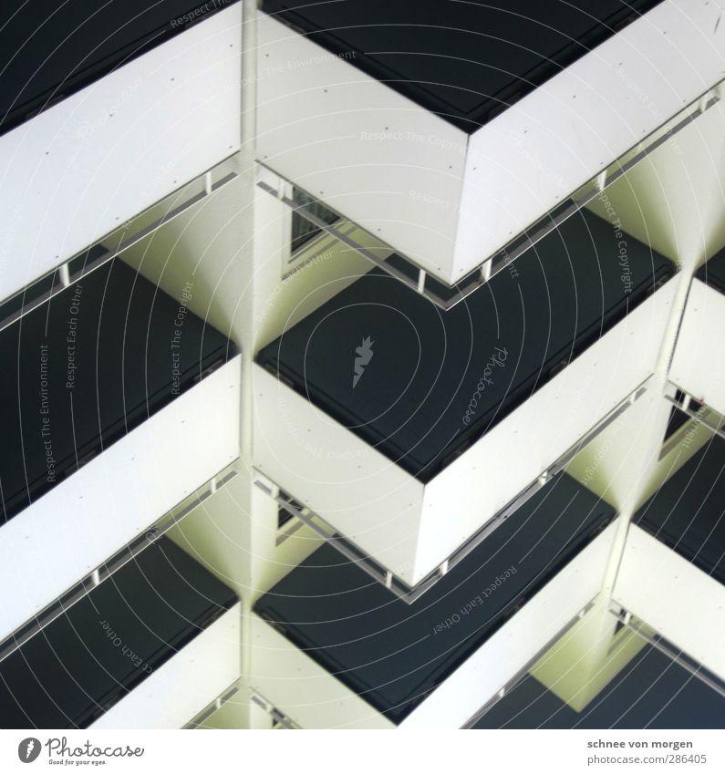 """objektbeziehung Stadt Haus Hochhaus Bauwerk Gebäude Architektur Mauer Wand Balkon Türspion """"balkon geländer schwarz weiß boden grafik fenster geometrie grau"""