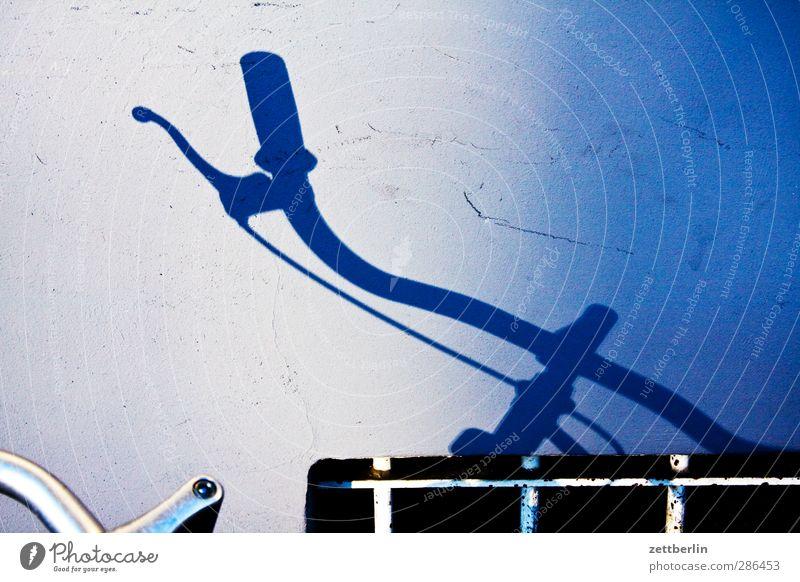 Lenker Freizeit & Hobby Ferien & Urlaub & Reisen Tourismus Ausflug Fahrradfahren Verkehr Verkehrsmittel Fahrzeug Gefühle Vorfreude Schatten Fahrradlenker
