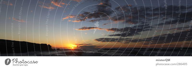 Can You Hear It? Ferien & Urlaub & Reisen Himmel (Jenseits) Sommer Sonne Meer Wolken Ferne Umwelt Traurigkeit Freiheit Horizont Wellen ästhetisch Zukunft
