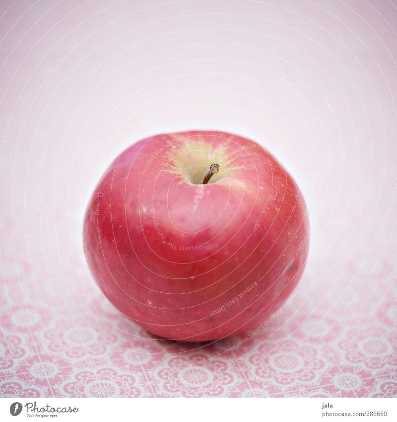 marnica Lebensmittel Frucht Apfel Ernährung Bioprodukte Vegetarische Ernährung Diät Gesundheit rosa rot lecker Appetit & Hunger Farbfoto Innenaufnahme