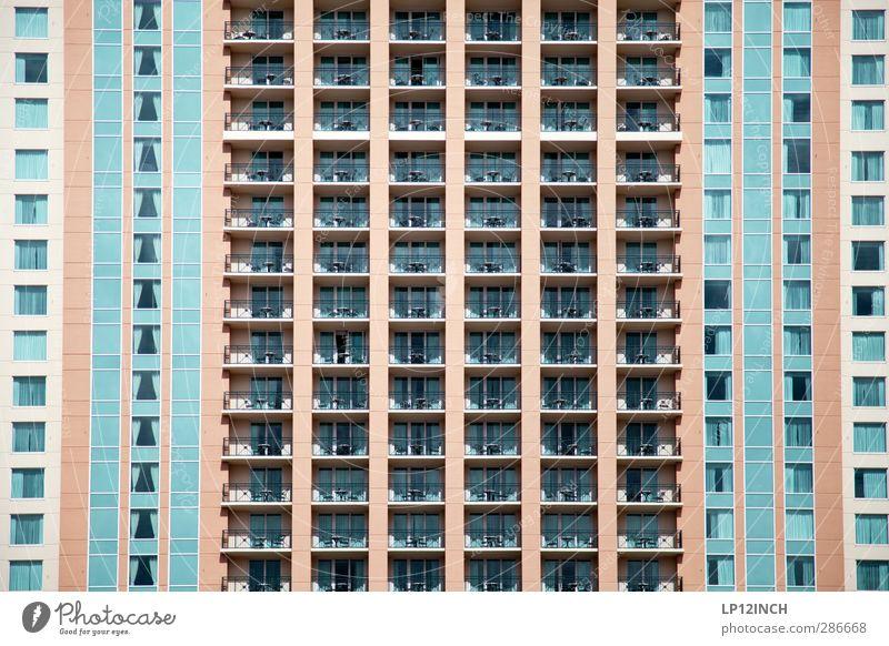 Floridanische Bettenburg III. VII Ferien & Urlaub & Reisen Tourismus Sommerurlaub Häusliches Leben Wohnung Haus USA Gebäude Architektur Hotel Fassade Balkon