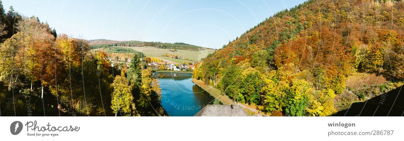 Herbst in Marsberg Freude Glück Ferien & Urlaub & Reisen Ausflug Ferne Fahrradtour Sommerurlaub Sonne Berge u. Gebirge wandern Natur Landschaft Luft Wasser