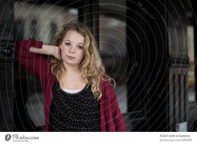 my sweet Mensch feminin Junge Frau Jugendliche Haare & Frisuren 1 13-18 Jahre Kind blond Coolness elegant schön einzigartig seriös anlehnen Farbfoto