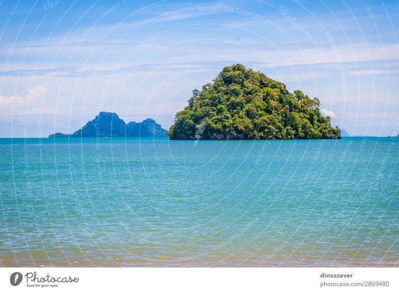 Himmel Ferien & Urlaub & Reisen Natur Sommer blau schön weiß Landschaft Sonne Meer Erholung Wolken Strand Berge u. Gebirge Küste Felsen
