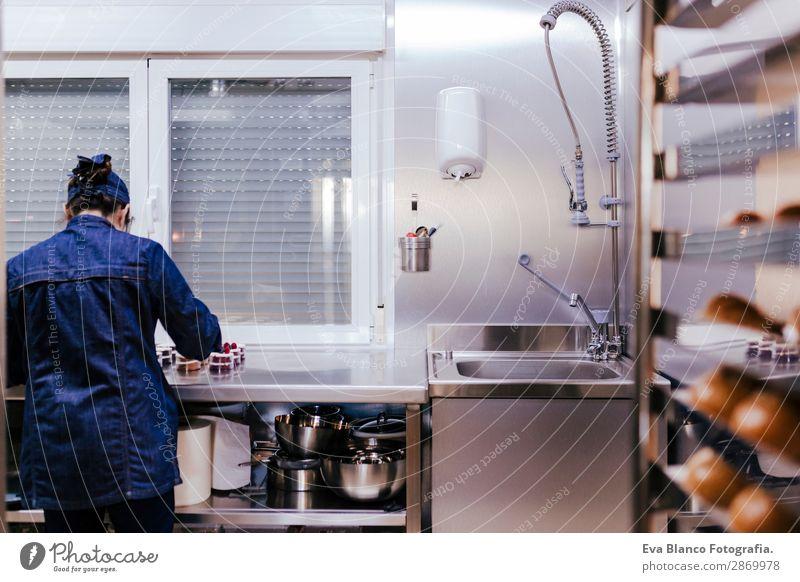 Frau Mensch Erwachsene feminin Business Arbeit & Erwerbstätigkeit frisch 45-60 Jahre kaufen Industrie Beruf Fotokamera Model Brot Fabrik Arbeitsplatz