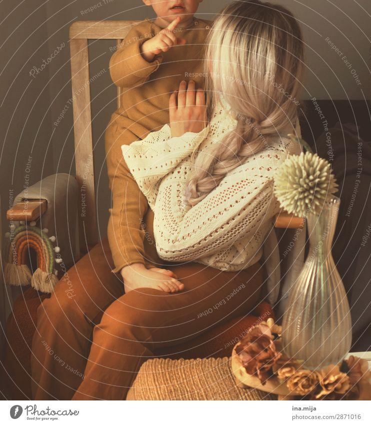 Liebe Frau Kind Mensch Jugendliche Junge Frau 18-30 Jahre Erwachsene Leben feminin Familie & Verwandtschaft Glück Feste & Feiern Haare & Frisuren blond