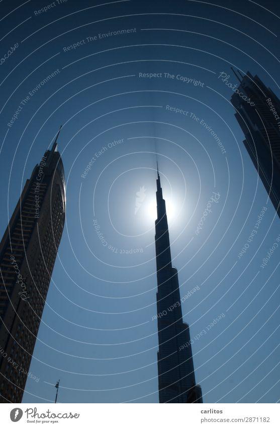 Palast der Republik ... zum Teil Dubai Vereinigte Arabische Emirate Burj Khalifa Hochhaus Wahrzeichen Größenwahn Bauboom Wirtschaftswachstum Wirtschaftskrise