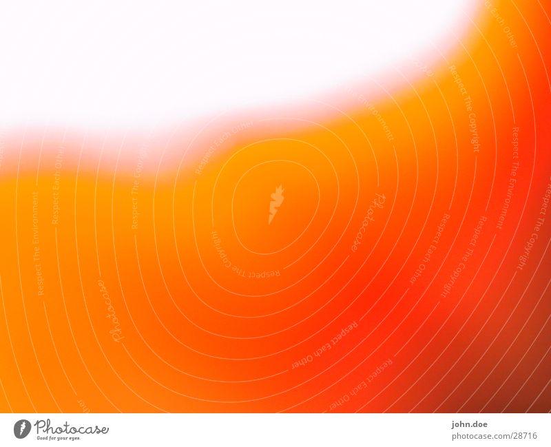 Orange Nahaufnahme Farbverlauf Licht Makroaufnahme orange Farbe