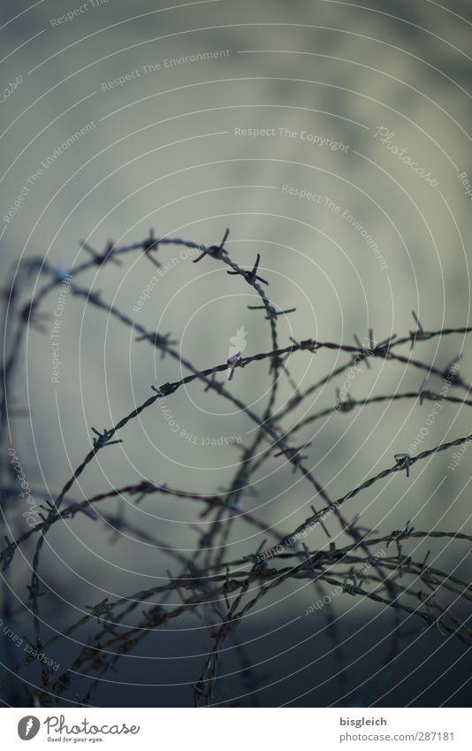 Stacheldraht grau Zaun - ein lizenzfreies Stock Foto von Photocase