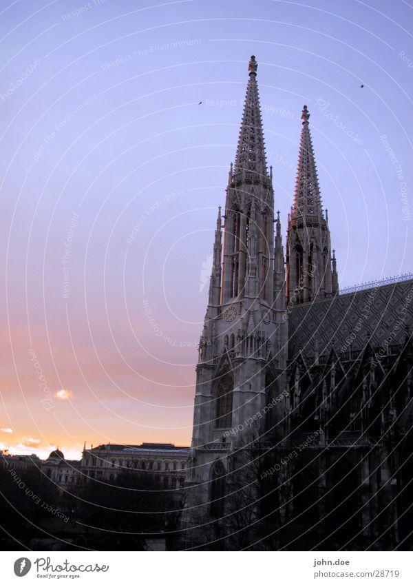 Votivkirche Wien Gebäude Religion & Glaube historisch