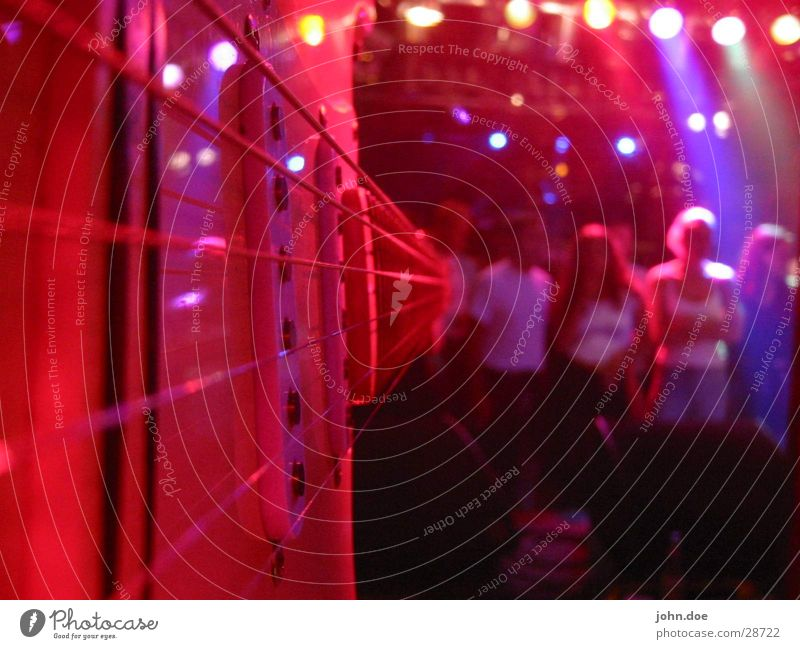 Gitarren-Session live Licht Konzert Makroaufnahme Nahaufnahme Musik Schnur Ton Publikum