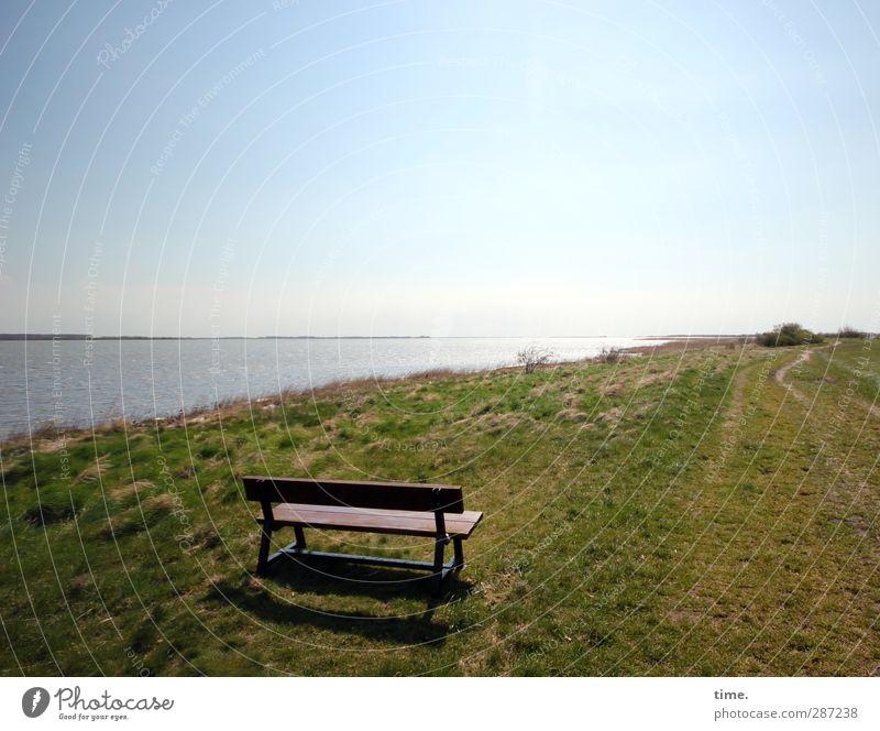 Hiddensee | Ruhezone Himmel Natur Wasser Einsamkeit ruhig Landschaft Erholung Ferne Umwelt Wiese Frühling Wege & Pfade Küste Gesundheit Stimmung Erde