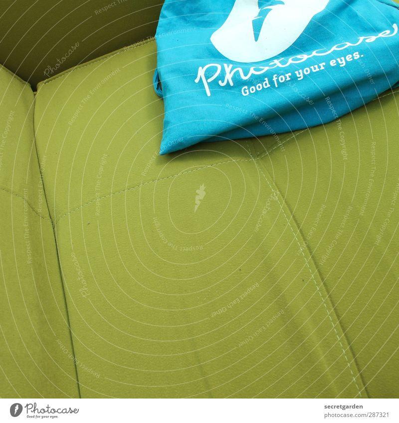 HAPPY BIRTHDAY!! ihr seid echt schräg :) blau grün Wohnung Schriftzeichen weich Stoff Neigung Sofa Werbung gemütlich Furche Sessel Beutel Naht Warenzeichen Produkt